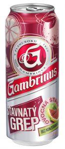 Gambrinus Šťavnatý grep, plech 0,5l