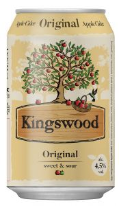 Kingswood Original, plech 0,33l