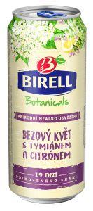 Birell Botanicals Bezový květ s Tymiánem a Citrónem, plech 0,4l