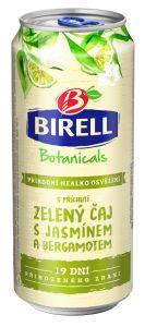 Birell Botanicals Zelený čaj s Jasmínem a Bergamontem, plech 0,4l