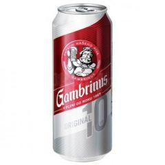 Gambrinus Originál 10, plechovka 0,5l