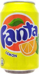 Fanta Citron plech 0,33l