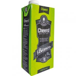 Cheers White Fruit Wine 1l tp