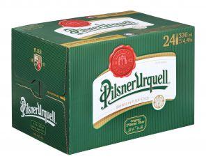 Pilsner Urquell, karton 4x(6x0,33l)