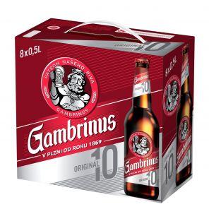 Gambrinus Originál 10, multipack 8x0,5l