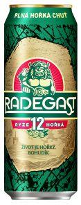 Radegast Ryze Hořká 12, plech 0,5l