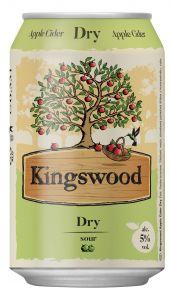 Kingswood Dry, plech 0,33l