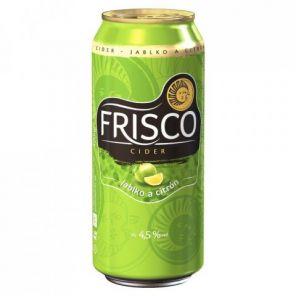 Frisco Jablko & Citrón, plech 0,33l